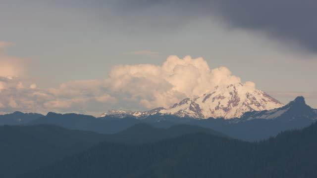 Aerial view of Mount Shuksan.