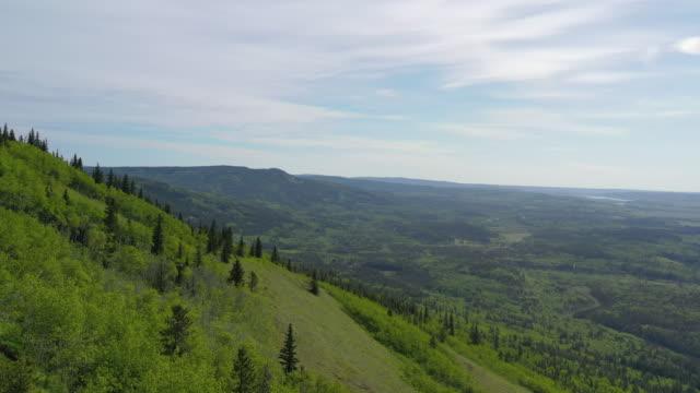 flygfoto över bergslandskapet - klippiga bergen bildbanksvideor och videomaterial från bakom kulisserna