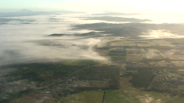 Aerial View of New Zealand video