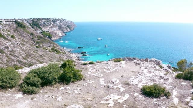 Luftaufnahme eines der besten Orte Mallorcas, Spanien – Video