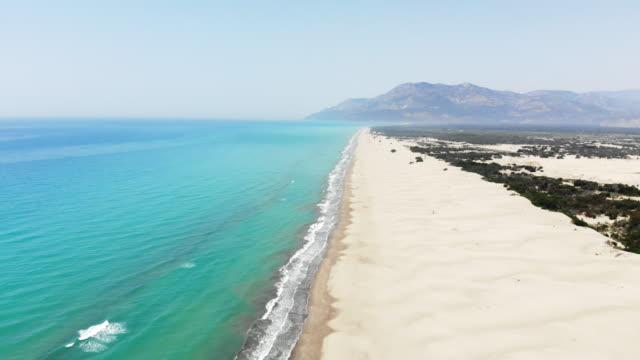 Aerial View of Patara Beach, Antalya