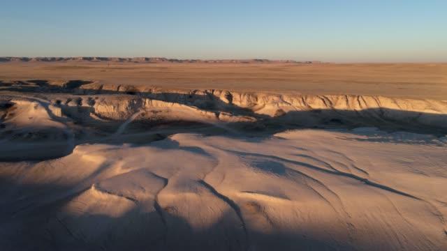 aerial view of pawnee national grassland - równina filmów i materiałów b-roll