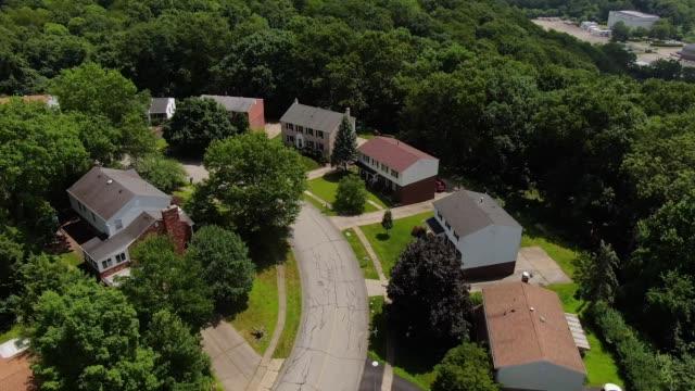 Aerial View of Pennsylvania Neighborhood video