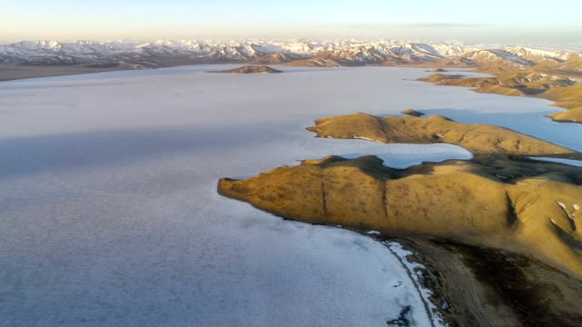 Aerial View Of Qinghai Aerial View Of Qinghai icecap stock videos & royalty-free footage
