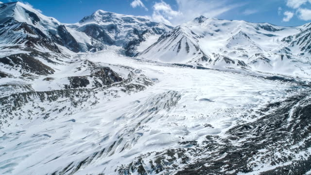 aerial view of qinghai - antarktyda filmów i materiałów b-roll