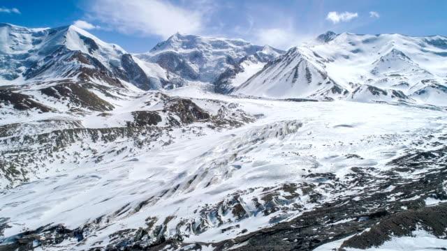 stockvideo's en b-roll-footage met luchtfoto van qinghai - sneeuwkap