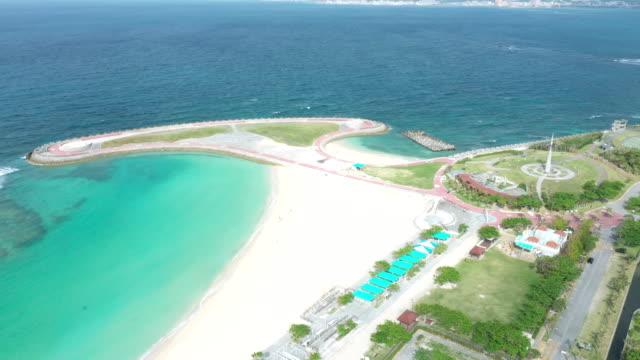 リゾート ビーチの空撮 - リゾート点の映像素材/bロール