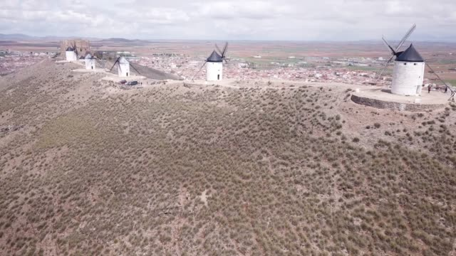 Aerial view of Route of Don Quixote
