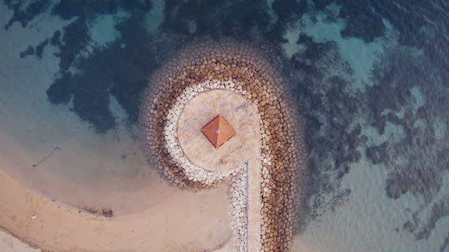 Aerial view of Sanur, Bali, Indonesia Coastline – Video