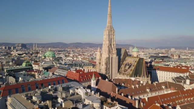 Aerial view of St. Stephen's Cathedral