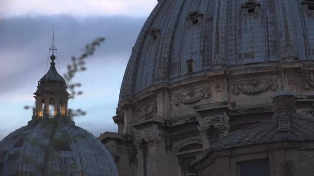 聖彼得斯廣場及其周邊地區的鳥瞰圖,羅馬,梵蒂岡。 - 廣場 個影片檔及 b 捲影像