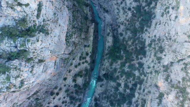 Aerial view of Tazi Kanyonu (Tazi Canyon) video