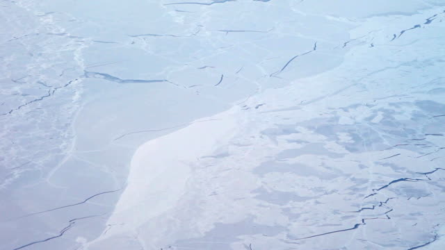 Aerial View of the Arctic Landscape video