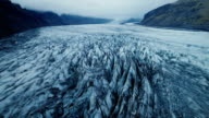 istock Aerial view of the glacier in Iceland 860076376