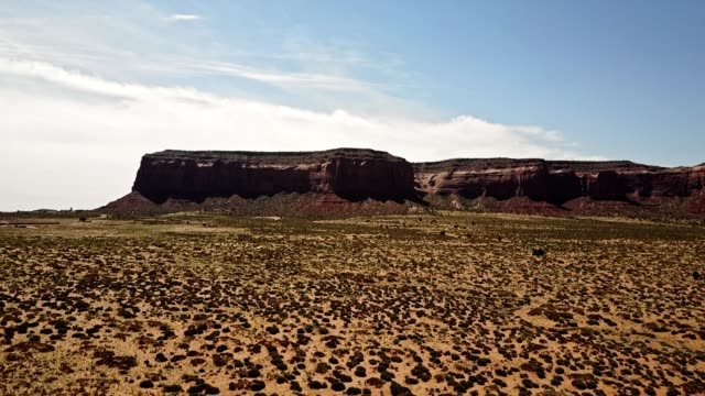 aerial view of the Monument Valley