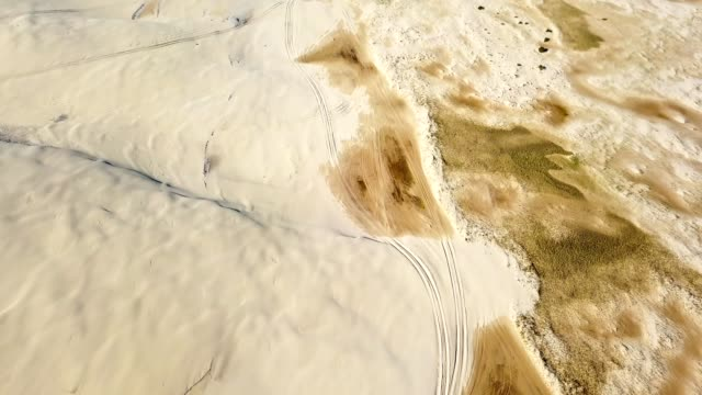 aerial view of the stockton sand beach landscape aerial view of the stockton sand beach landscape natal stock videos & royalty-free footage