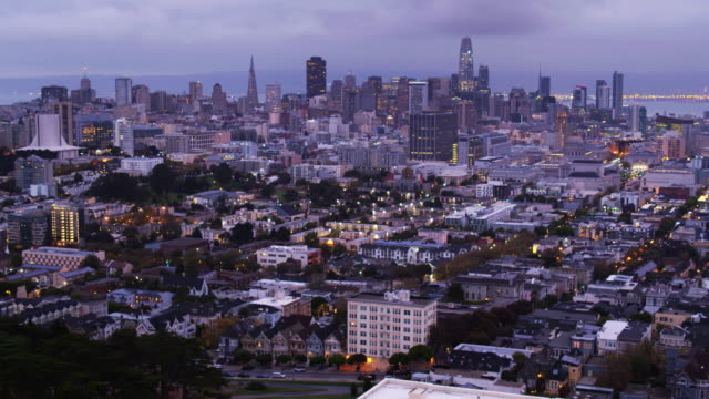Aerial View of the Tenderloin, San Francisco video