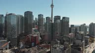 istock Aerial view of Toronto, Canada 1285789348