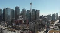 istock Aerial view of Toronto skyline 1285789115