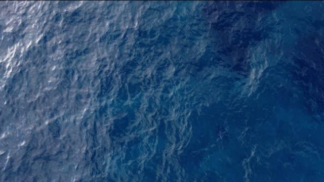 海の水をオフに熱帯の島の空中写真 - 水面点の映像素材/bロール
