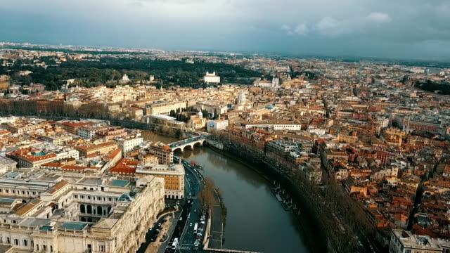 vatikan havadan görünümü - obelisk stok videoları ve detay görüntü çekimi