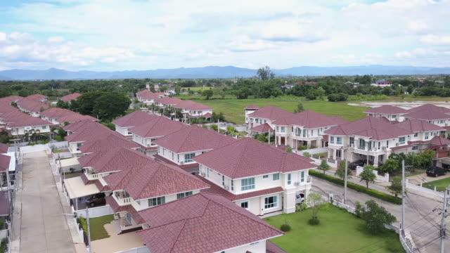 Vista aérea da cidade - vídeo