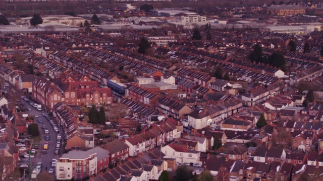 Aerial View of Watford, England video