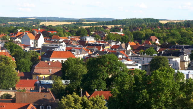 Aerial view of Weimar, Germany