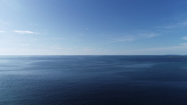 Aerial View on Adriatic Sea video