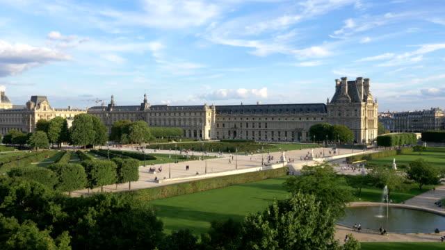 Aerial view on Paris in 4k slow motion 120fps video