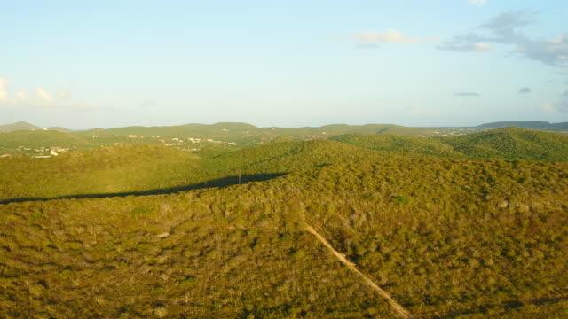 Blick über die Bucht von St. Martha Christoffel NP - westlichen Teil von Curaçao – Video