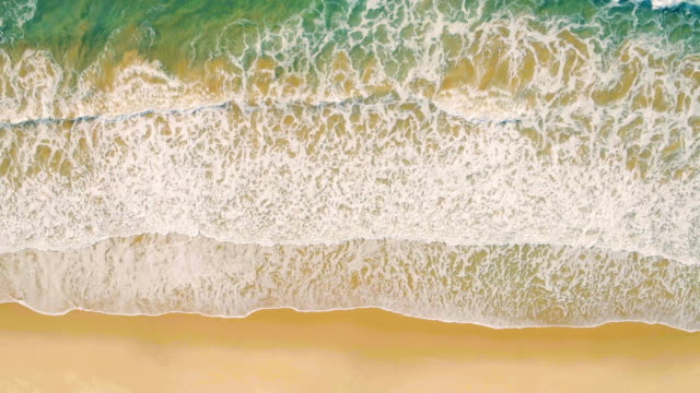 Aerial View Seascape with Waves video