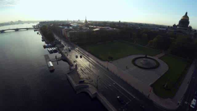flygfoto. senaten och synod. författningsdomstolen i s:t petersburg. 4k. - drone helsinki bildbanksvideor och videomaterial från bakom kulisserna