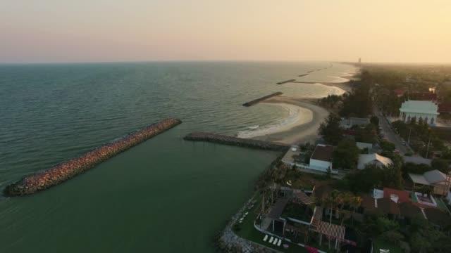 flygfoto sköt tropisk strand havet - vakta bildbanksvideor och videomaterial från bakom kulisserna