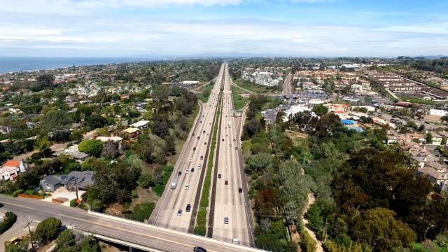 空からの眺め - 州間高速道路点の映像素材/bロール