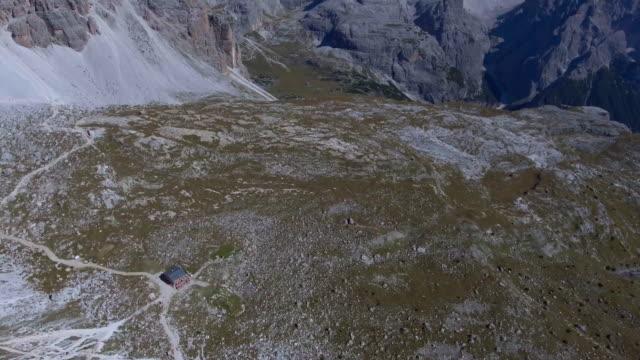 Aerial:Dolomites Tri cime video