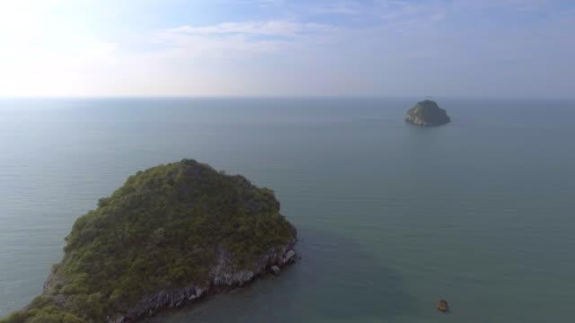 aerial:into the island - ekoturystyka filmów i materiałów b-roll