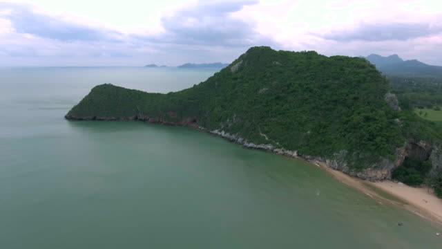 Aerial:South of thailand island video