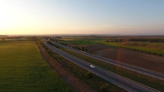 aero autopista - lleida stok videoları ve detay görüntü çekimi