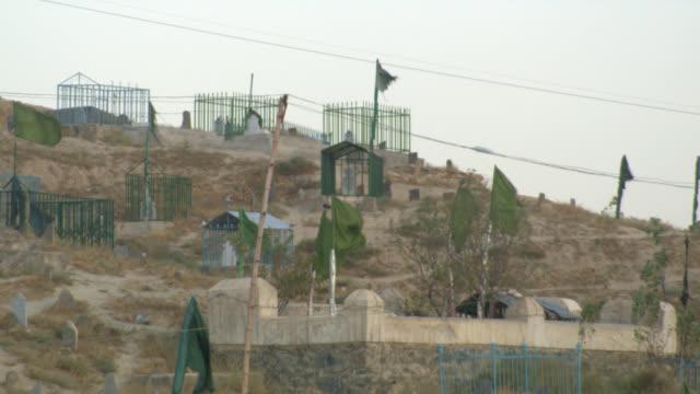 Afghanistan cemetary Kabul video