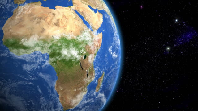 Africa from space video