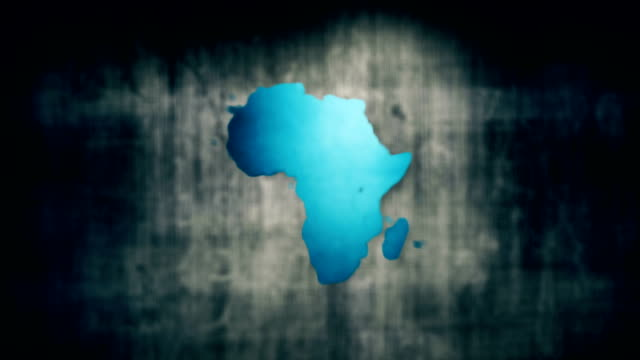 africa map - wildlife travel stock videos and b-roll footage