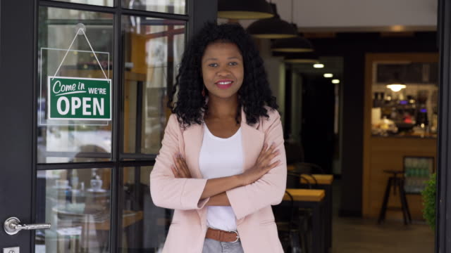 African ethnicity woman small business owner