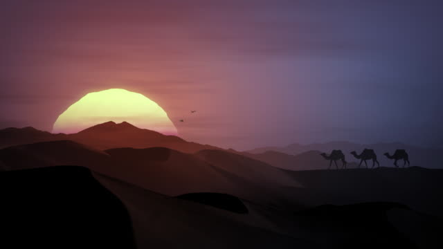 African Sunset - HDTV