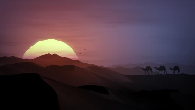 African Sunset - HDTV video
