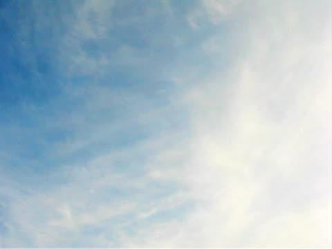 afternoon clouds (time lapse) in summer - 10 saniyeden daha kısa stok videoları ve detay görüntü çekimi