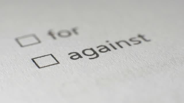 Against Checkbox Marking Survey video