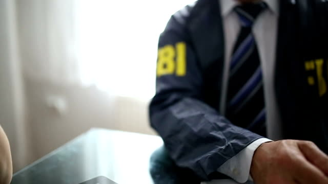 FBI agent in the office video