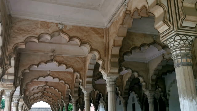 Agra fort Uttar Pradesh, India