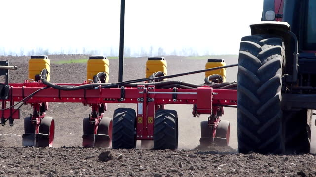 Agricultural machinery, sowing video